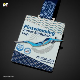 Medal Finswimming